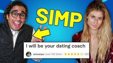 I Hired A Dating Coach on Fiverr and Pretended to Be A SIMP! | Undercover Simp
